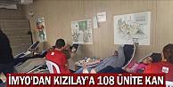 İMYO''dan Kızılay'a 108 Ünite Kan