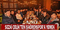 Sezai Çelik'ten İsaörenspor'a Yemek