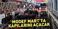 Modef Mart'ta Kapılarını Açacak