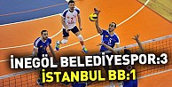 İnegöl Belediyespor:3 İstanbul BB:1