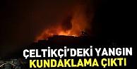 İnegöl'deki yangın kundaklama çıktı
