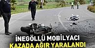 İnegöllü Mobilyacı Kazada Ağır Yaralandı