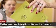 Türkiye yarın sandığa gidiyor! Oy verirken bunlara dikkat edin