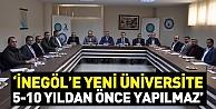 'Yeni Üniversite 5-10 Yıldan Önce Yapılmaz'