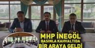 MHP İnegöl basınla kahvaltıda bir araya geldi