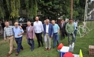 Eski Başkanlardan İnegölspor'a ziyaret
