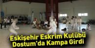 Eskişehir Eskrim Kulübü Dostum'da Kampa Girdi