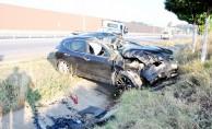 İnegöl#039;de feci kaza:2 yaralı