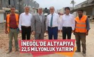 İnegöl'de altyapıya 22,5 milyonluk yatırım