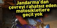 Jandarma'dan çevreyi rahatsız eden motosikletlere geçit yok