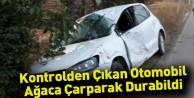 Otomobil Ağaçlara Çarptı; 1 yaralı