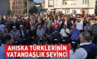 Ahıska Türklerinin vatandaşlık sevinci