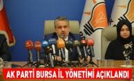 AK Parti Bursa il yönetimi açıklandı