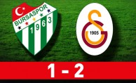 Bursaspor:1- Galatasaray:2