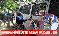 Hurda Minibüste Yaşam Mücadelesi