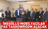 İnegöllü Mobilyacılar Fas'ta showroom açacak