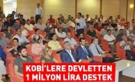 KOBİ'lere 1 milyon liraya destek
