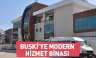 BUSKİ'ye modern hizmet binası