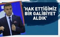 Levent Zoroğlu: Hak ettiğimiz bir galibiyeti aldık