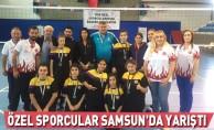 Özel sporcular Samsun'da yarıştı