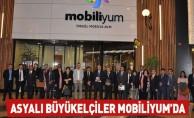Asyalı Büyükelçiler Mobiliyum AVM'yi gezdi