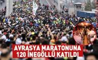 Avrasya Maratonuna 120 İnegöllü Katıldı