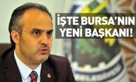 Bursa'nın yeni büyükşehir belediye başkanı Alinur Aktaş oldu