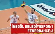 İnegöl Belediyespor:1 - Fenerbahçe:3