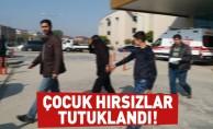 İnegöl'de çocuk hırsızlar tutuklandı!