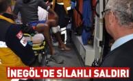 İnegöl'de Silahlı Saldırı:1 Yaralı