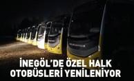 İnegöl'e 110 adet yeni halk otobüsü