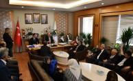 Mehmet Müezzinoğlu'ndan Taban'a Hayırlı Olsun Ziyareti
