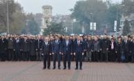 Mustafa Kemal Atatürk, 79. ölüm yıl dönümünde anıldı