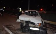 Ters yöne giren alkollü sürücü dehşet saçtı