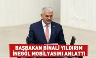 Başbakan Binali Yıldırım  İnegöl Mobilyasını Anlattı