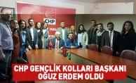 CHP Gençlik Kolları Başkanı Oğuz Erdem oldu