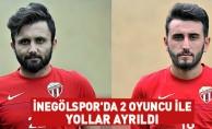 İnegölspor'da 2 Oyuncu İle Yollar Ayrıldı
