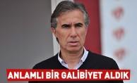 Murat Yoldaş: Anlamlı bir galibiyet aldık