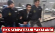 PKK Sempatizanı yakalandı