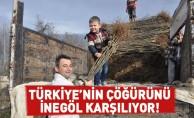 Türkiye'nin Çöğürünü İnegöl Karşılıyor