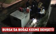 Bursa'da surların dibinde cinayet