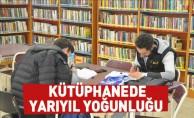Kütüphanede Yarıyıl Yoğunluğu