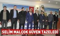 Selim Malçok Güven Tazeledi