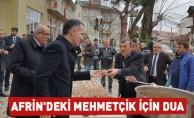 Afrin'deki Mehmetçik için dua