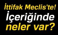 AK Parti ile MHP'nin ittifak yasa teklifi TBMM'ye sunuldu