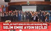 İnegöl AK Parti Gençlik Kolları Başkanlığına Selim Emre Aydın Seçildi