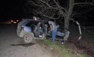 İnegöl'de feci kaza : 1 ölü, 1 yaralı