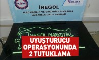 İnegöl'de Uyuşturucu Operasyonunda 2 Tutuklama