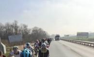 İnegöllü Bisikletçiler Şehitlerimiz İçin Pedal Bastı