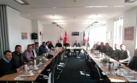 İTSO üyeleri BAUTEC 2018 İnşaat Fuarı'nı ziyaret etti